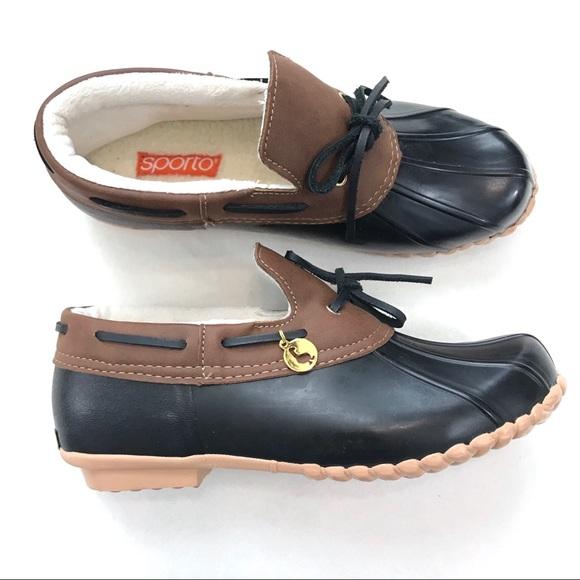 921111d144b Sporto Pamela Waterproof Duck Booties